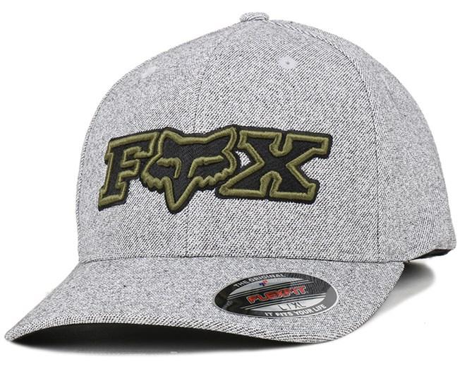 Another Notch Heather Grey Flexfit - Fox