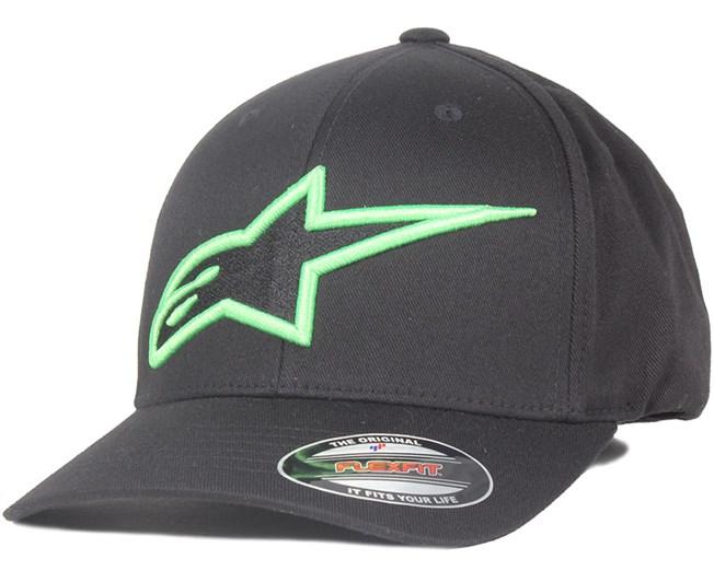 Astar Logo Black/Monstergreen - Alpinestars