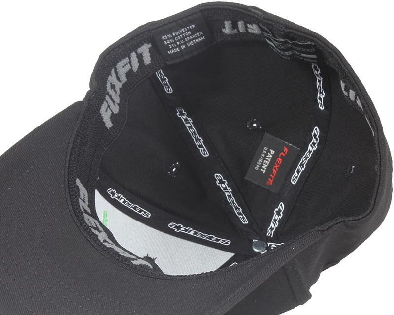 astar logo blackmonstergreen alpinestars caps