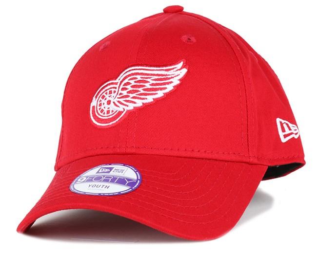 Kids Detroit Red Wings NHL 940 Adjustable - New Era