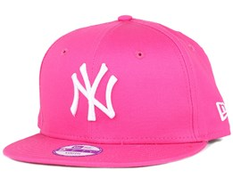 Kids NY Yankees League Basic Hot Pink 9Fifty Snapback - New Era