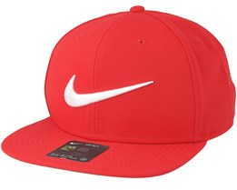 Swoosh Pro University Red/White Snapback - Nike