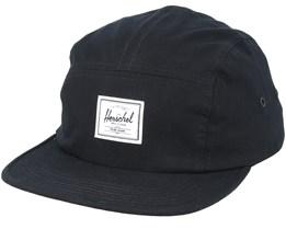Glendale Classic Black 5 Panel - Herschel