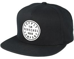 TM Black Snapback - Herschel