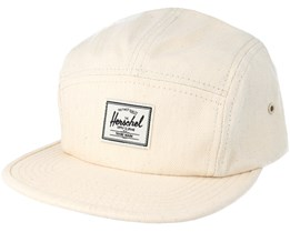 Glendale 5 Panel Natural Snapback - Herschel