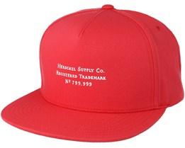 Trademark Rococo Red Snapback - Herschel