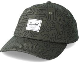 Sylas Forest Night Keith Haring Adjustable - Herschel