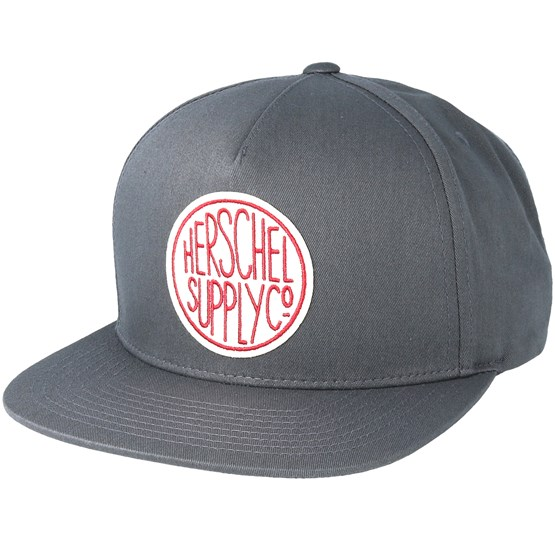 scope light charcoal snapback herschel cap. Black Bedroom Furniture Sets. Home Design Ideas