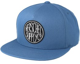 Scope Aegean Blue Snapback - Herschel