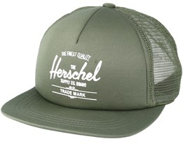 Whaler Mesh Soft Brim Windsor Army Trucker - Herschel