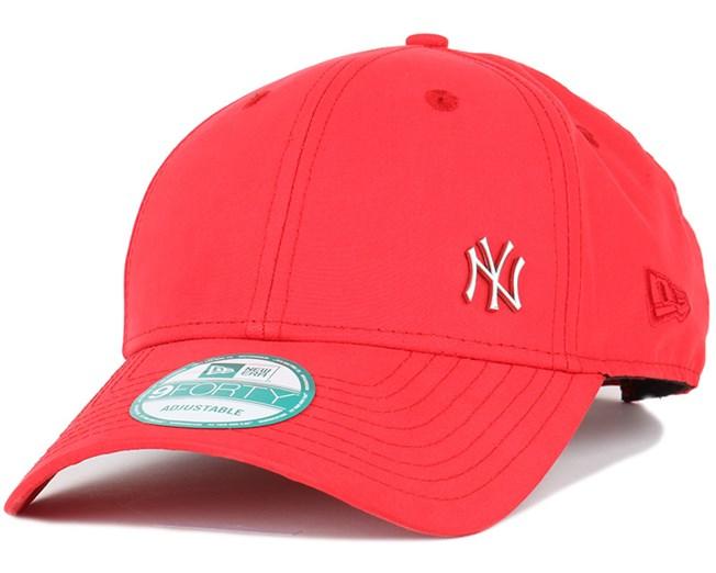 NY Yankees Flawless Scarlet 940 Adjustable - New Era