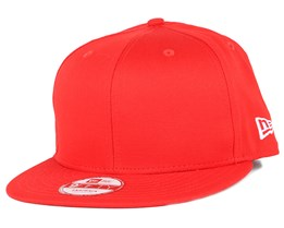 Hot Red Cotton 9Fifty Snapback - New Era