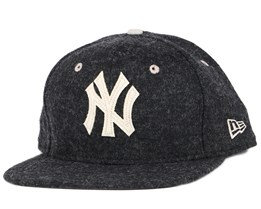 NY Yankees Felt Wool Black 9Fifty Snapback - New Era