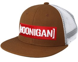 Davenport Brown Trucker Snapback - Hoonigan
