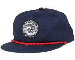 Cons Swirl Navy Snapback - Sweet