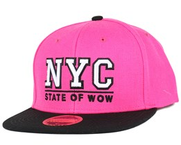Kids Toronto 2 JR Dark Pink/Black Snapback - State Of Wow