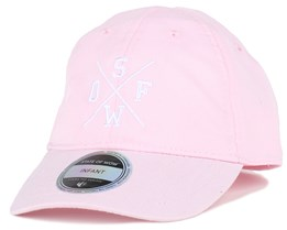 Kids Rexdale Baseball Light Pink Adjustable - State Of Wow