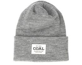 The Uniform Heather Grey Beanie - Coal