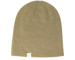 The Fit Khaki Beanie - Coal