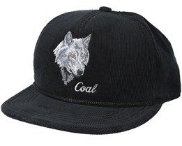 The Wilderness Black Snapback - Coal