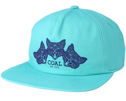 The Triplets Mint Snapback - Coal