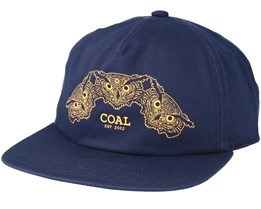 The Triplets Navy Snapback - Coal