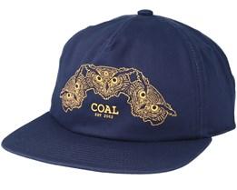 The Triplets Navy Snapback - Coal