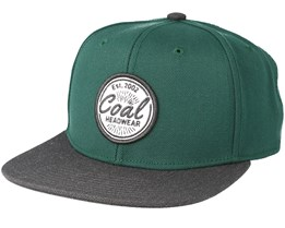 The Classic Green Snapback - Coal