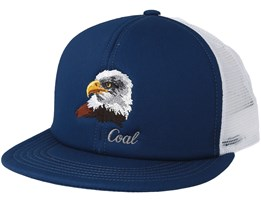 The Wilds Trucker Navy Snapback - Coal
