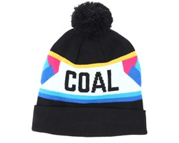 The Downhill Black Beanie - Coal
