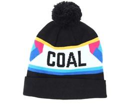 The Downhill Black Beanie - Coal