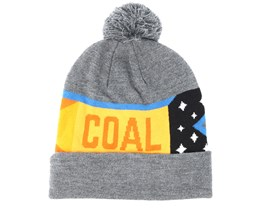 The Downhill Charcoal Beanie - Coal