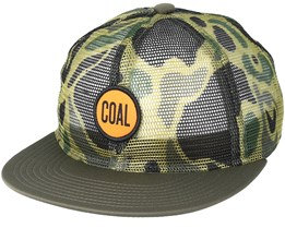 Redmund Olive Trucker - Coal