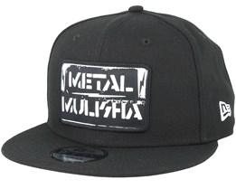 Resist Black Snapback - Metal Mulisha
