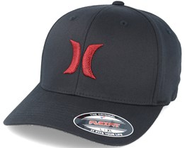 One & Only Black/Red Flexfit - Hurley
