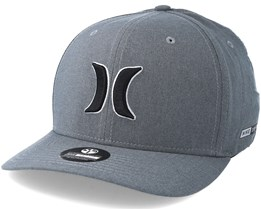 Dri Fit Heather Grey Flexfit - Hurley