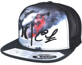 Clark Little Lava Trucker Multi/Black Snapback - Hurley