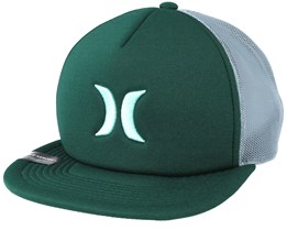 Blocked 3.0 Trucker Green Snapback - Hurley