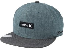 Phantom One and Only Grey Snapback - Hurley