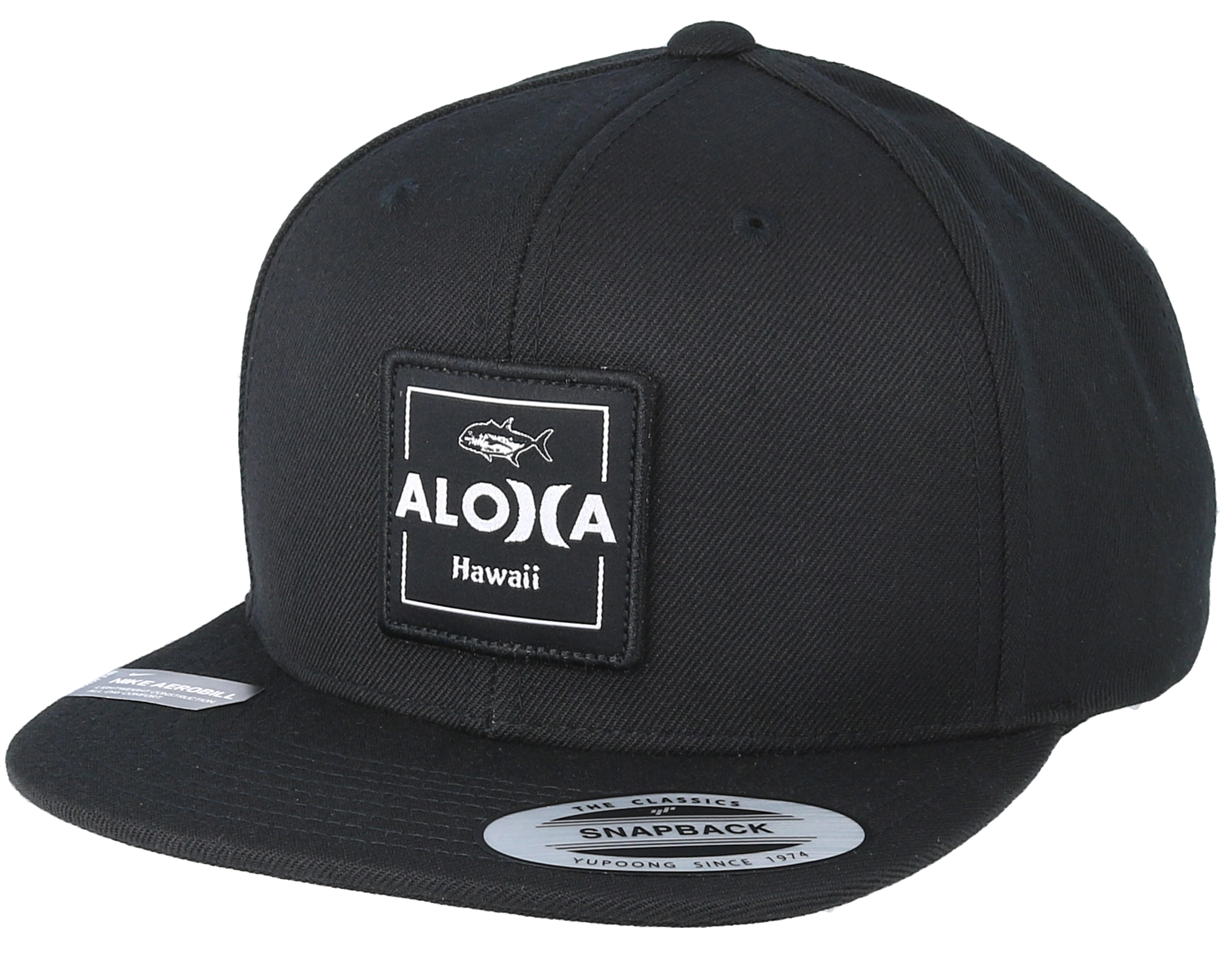 premium selection bb09c 9234c ... uk aloha cruiser black snapback hurley caps hatstore.no 1ba62 5bf26
