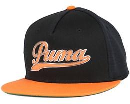 Script Black Snapback - Puma