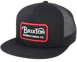 Grade Mesh Black Trucker Snapback - Brixton