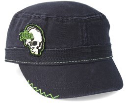 Pike Black Cadet Skull Green Black Army - Bioworld