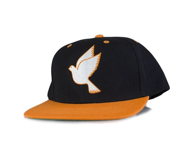 Snapback Black/Orange - Galagowear