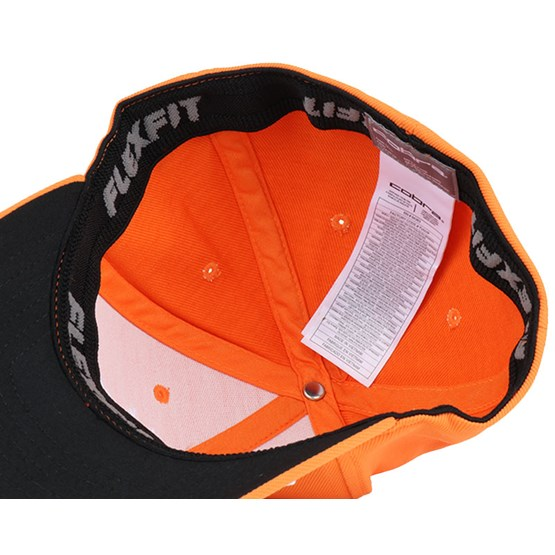 kids pro tour orange flexfit cobra cap. Black Bedroom Furniture Sets. Home Design Ideas