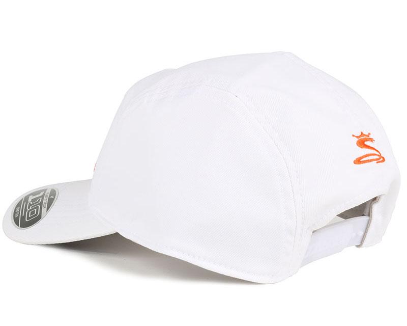 tour white orange 110 5 panel cobra cap. Black Bedroom Furniture Sets. Home Design Ideas