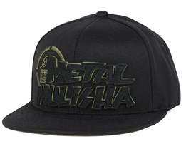 Legit Black Fitted - Metal Mulisha