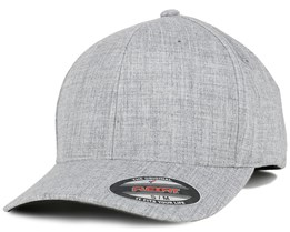 Plain Span Heather Grey Flexfit - Flexfit