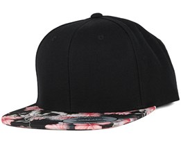 Floral Red Snapback - Yupoong