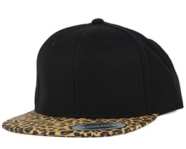 Animal Black Leopard Snapback - Yupoong